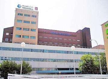 Resultado de imagen de hospital de mostoles viejo