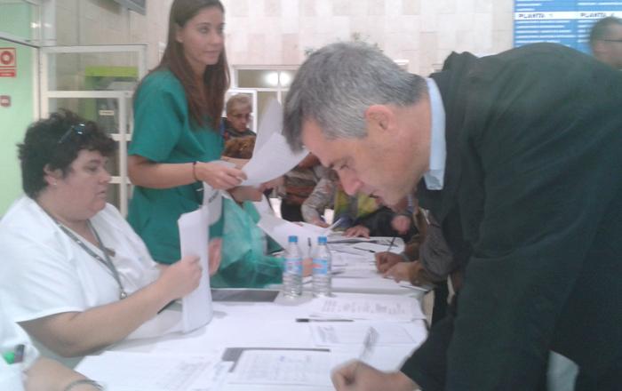 david lucas firma apoyo sanidad pública móstoles