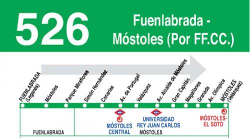 linea 526 autobus