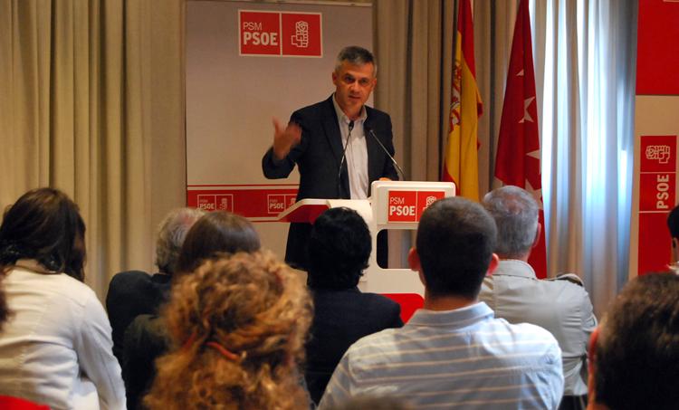 David Lucas conferencia socialista mostoles
