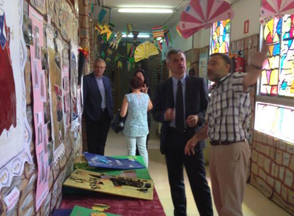 lucas visita colegio principe asturias mostoles