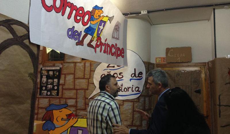 visita principe de asturias colegio