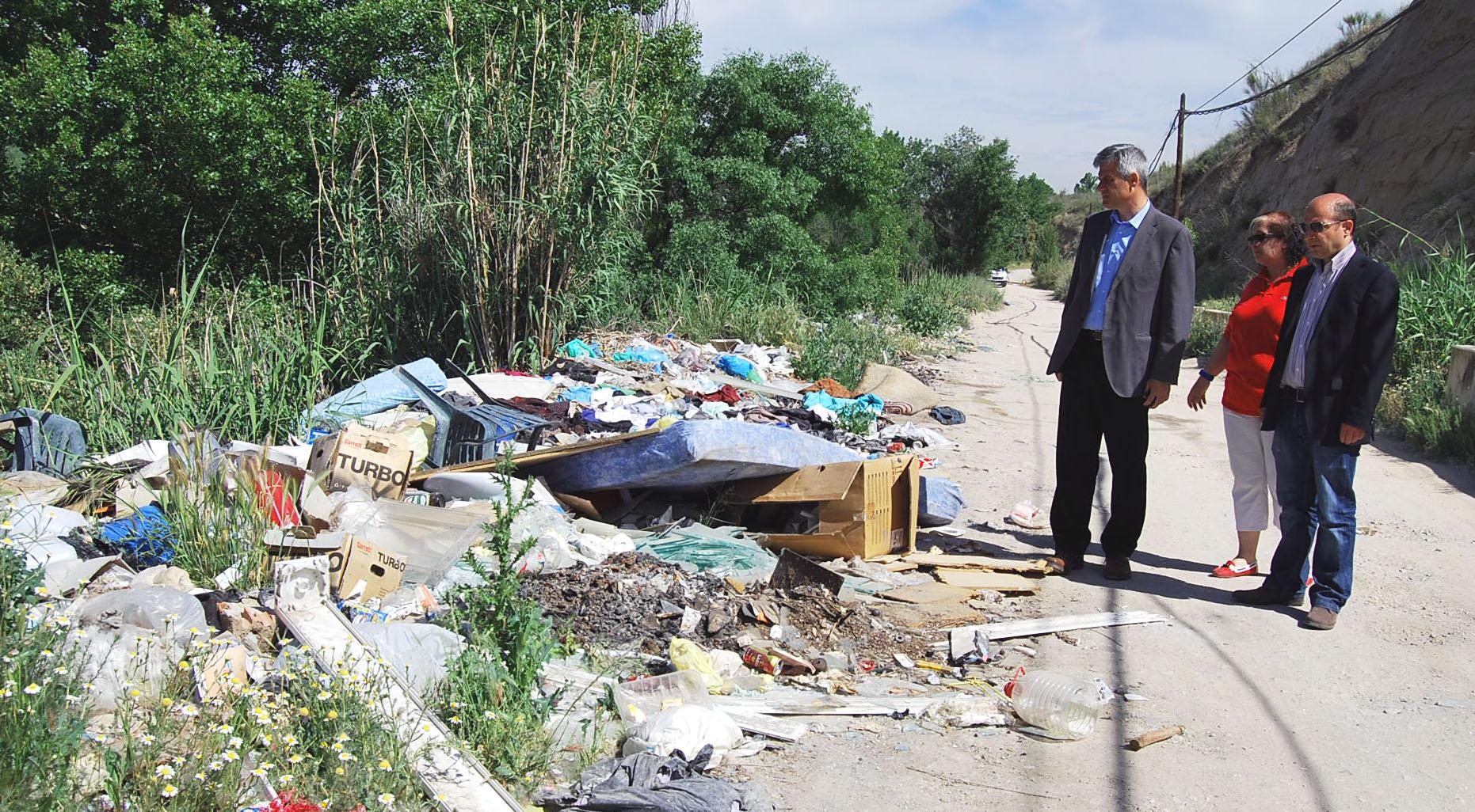 basuras rio guadarrama