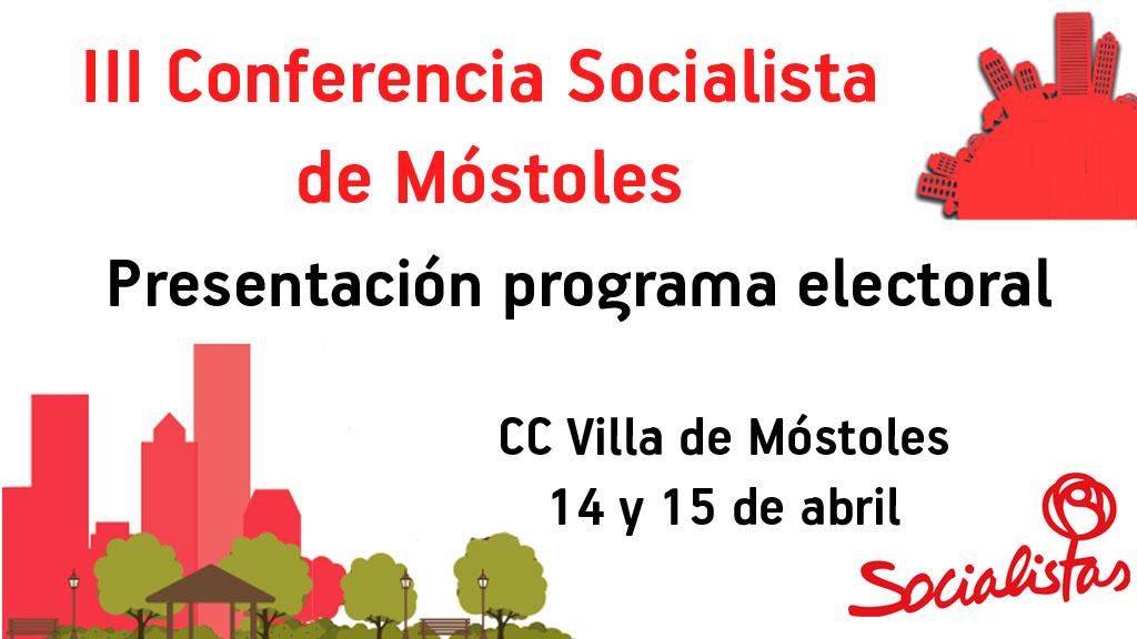 banner III Conferencia Socialista