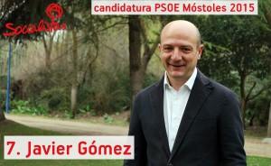 Num 7 Javier Gomez