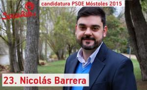 num 23 Nicolas Barrera